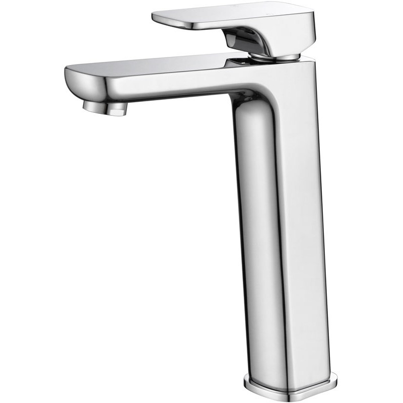 Basin Mixer-square-High Rise
