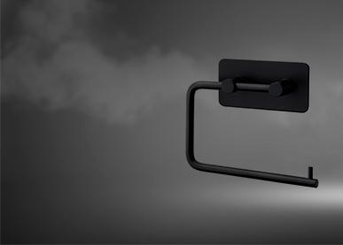 black-toilet-roll-holder
