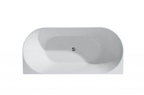 UNICASA MU-1700-W MUSEN / BACK TO WALL / FREESTANDNG BATH (WHITE)