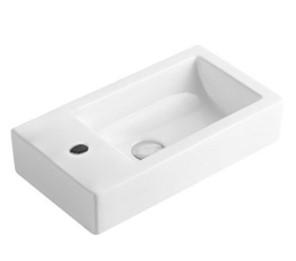 POSEIDON Gloss White Wall Hung Basins 500*240*130mm Gloss white