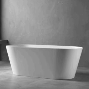 UNICASA IS-1700-W ISEO / FREESTANDING BATHTUB (WHITE)