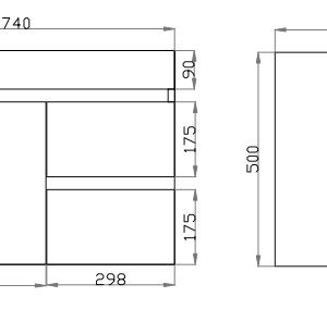 poseidon-b73rw-wo-wall-hung-vanity-cabinet-740l350d500h-mm-white-oak