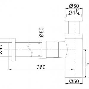 poseidon-pbt226-b-brass-40mm-bottle-trap-matte-black