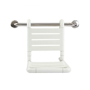 LINKWARE LC201 LINKCARE HANGING SHOWER SEAT WHITE