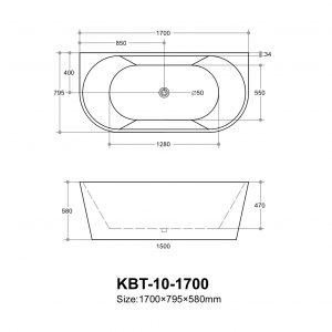 poseidon-elivia-elbt1700mw-back-to-wall-bathtub-1700795580mm-matte-white