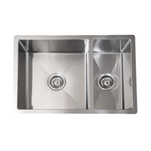 LINKWARE BL794 LIBERTY UNDERMOUNT/INSET SINKS 1 AND 1/2 BOWL STAINLESS STEEL