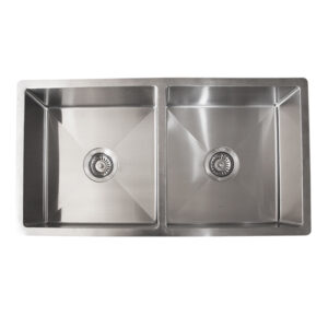 LINKWARE BL795 LIBERTY UNDERMOUNT/INSET SINKS DOUBLE BOWL STAINLESS STEEL