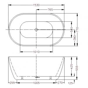 poseidon-olivia-ovbt1530nf-free-standing-bathtub-1530770555mm-matte-white