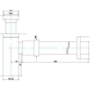 poseidon-pbt226-brass-40mm-bottle-trap-matte-black