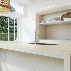 Caesarstone Adamina™ 5222 Vanity Stone Top 600mm - 1200mm