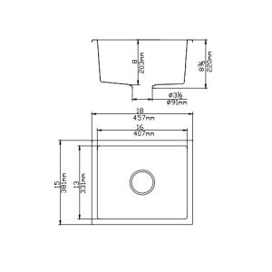 poseidon-qks3845-quartz-undermount-kitchen-sink-381457220mm-single-bowl-matte-black