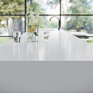 Caesarstone Vivid White™ 1111 Vanity Stone Top 600mm - 1200mm